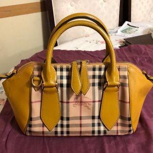 Authentic Cute Burberry Handbag